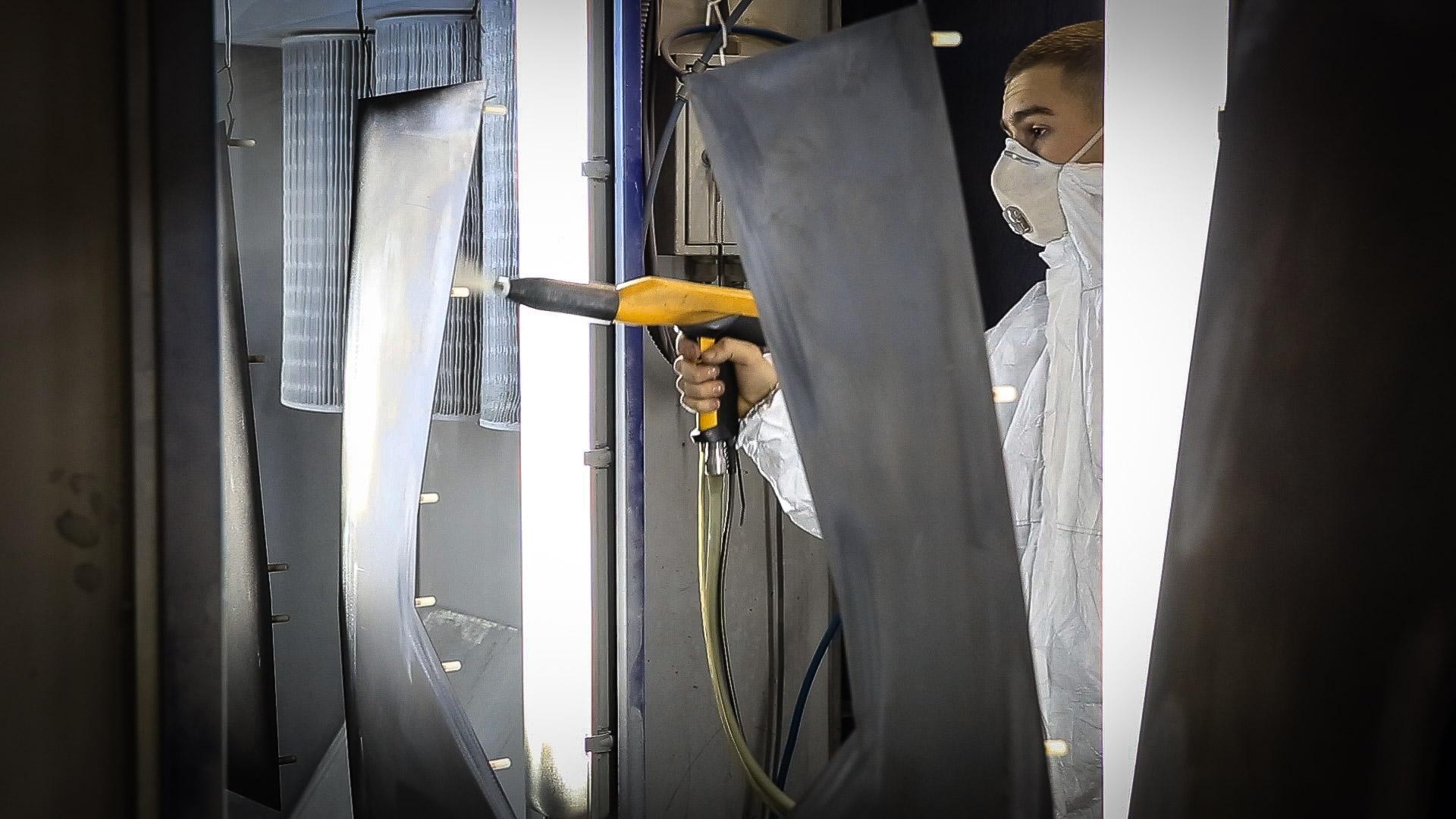 Perfolux metal fabrication, Powder Coating Operations