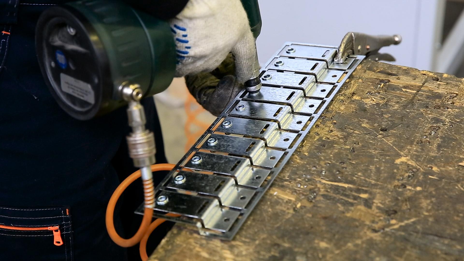 Perfolux metal fabrication, PEM Fastener Insertion Operations